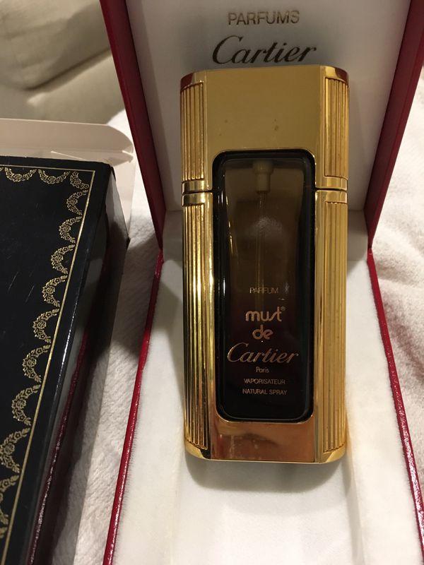 Vintage Cartier Parfum Must De Cartier For Sale In Merion Station