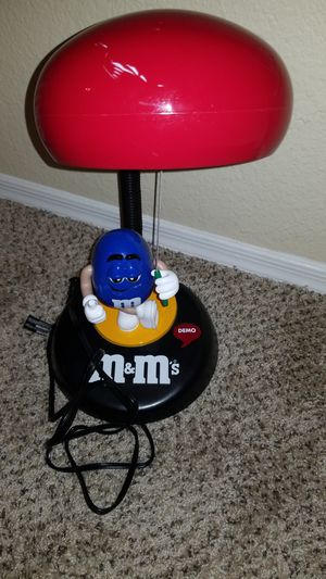 M&M lamp for Sale in Phoenix, AZ