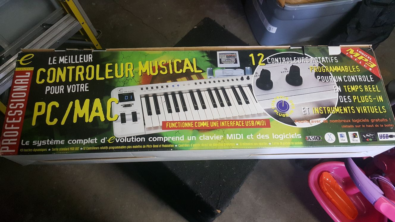 Evolution keyboard controller