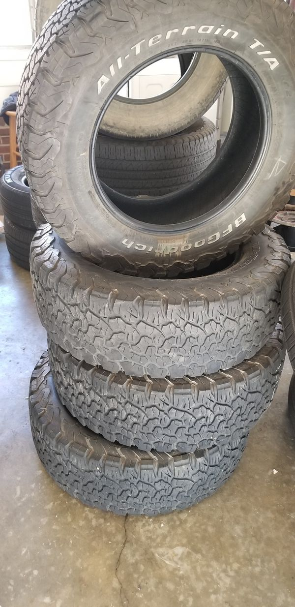 Used Tires Greensboro Nc >> 275 65r18 Bfg For Sale In Greensboro Nc Offerup