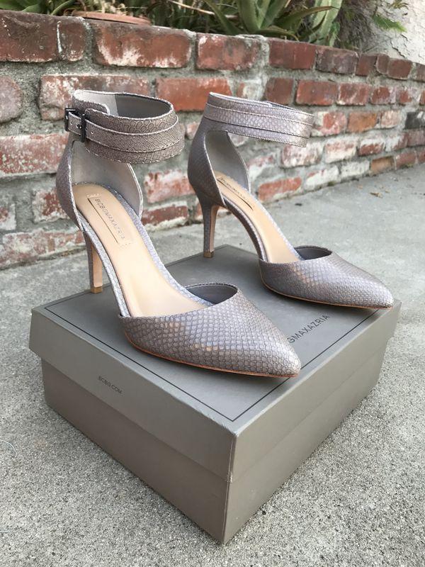 eb769ed8f00 NEW BCBG Grey Snakeskin Print Heels for Sale in San Dimas, CA - OfferUp