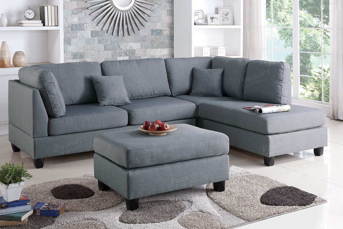 Financing Available !! Sectional With Ottoman