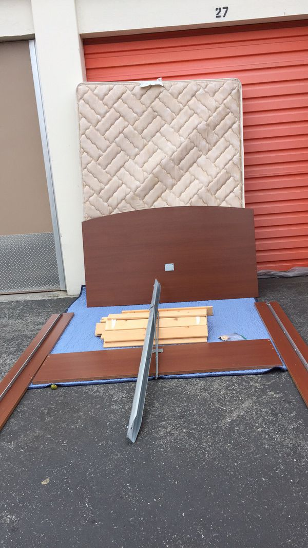 Ikea Full Bed Frame Ramberg Slats No Mattress For Sale In Palo Alto CA