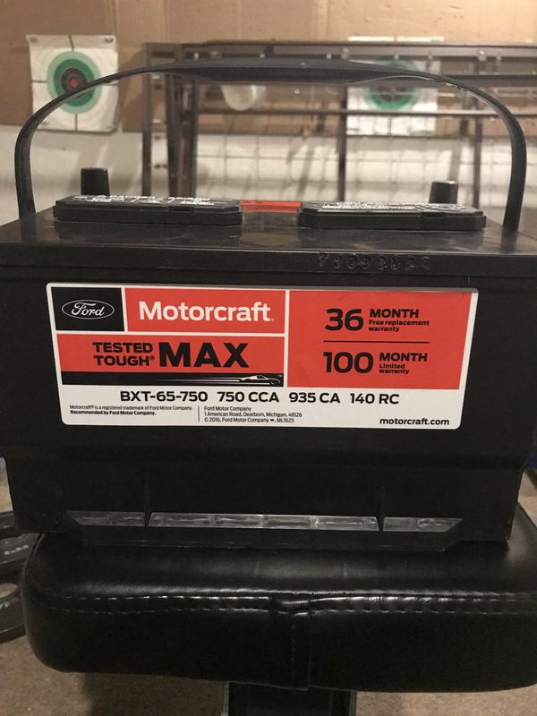 Ford Motorcraft Battery For Sale In Olivette MO OfferUp