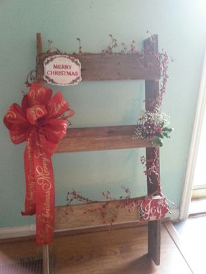 Christmas porch sitter ladder for Sale in Madison Heights, VA