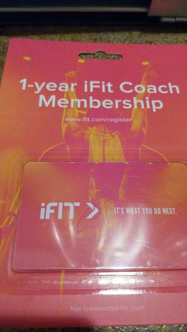 IFit coach 1 year membership for Sale in Phoenix, AZ - OfferUp