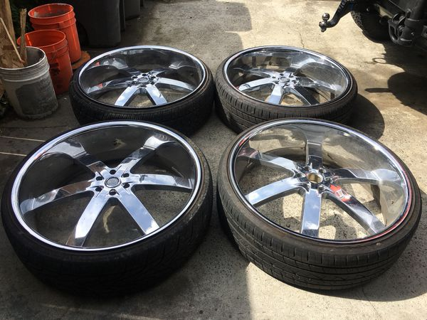 30 Inch U2 55 Rims And Tires 6 Lug For Sale In Federal Way Wa Offerup