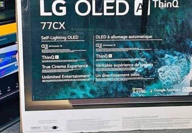 """77"""" LG Oled CX 4k Smart Tv UHD HDR"""