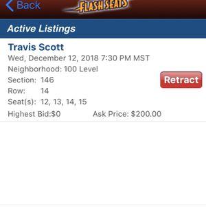 Travis Scott tickets for Sale in Denver, CO