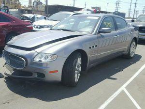 Parting out Maserati Quattruporte M139 for Sale in Rancho Cordova, CA
