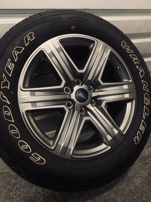 "Photo NEW Ford F-150 Lariat XLT Wheels Rims Tires Rines 2019 20"" F150"