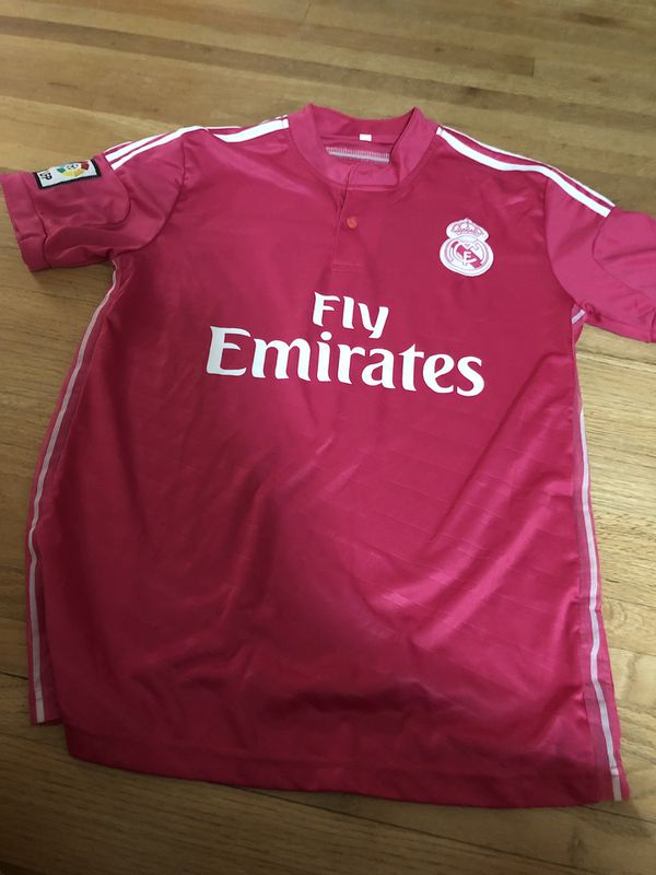 official photos f9387 126da Real Madrid pink Ronaldo jersey for Sale in Minneapolis, MN - OfferUp