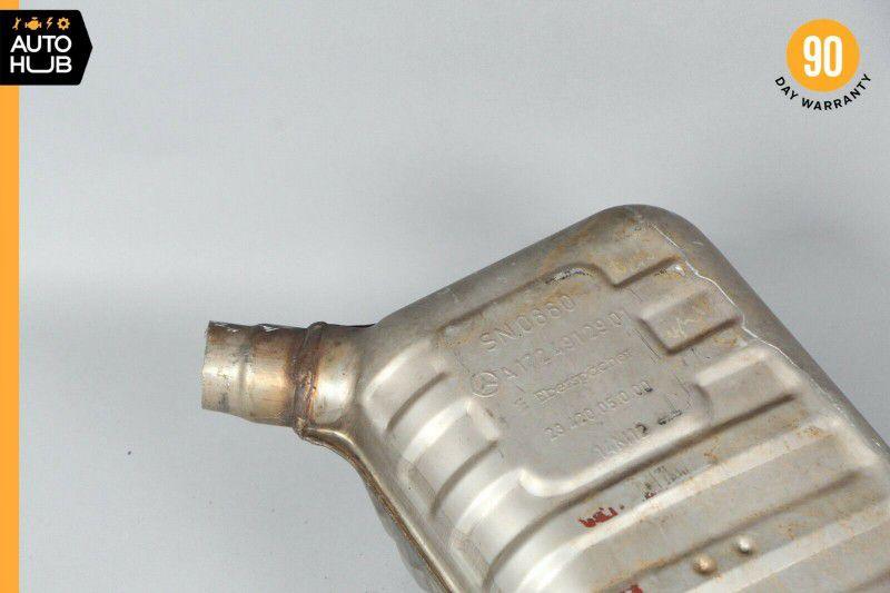 12-15 Mercedes R172 SLK250 M271 Exhaust Muffler Mufflers Right and Left Set OEM