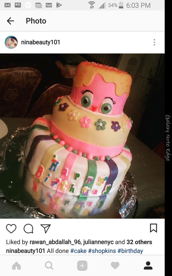 Shopkin Cake Queens NY