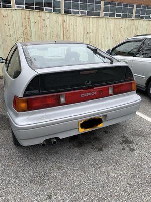 1988 Honda CRX SI for Sale in Alexandria, VA