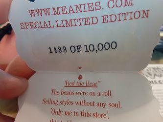 2 Vintage MEANIE Beanies, Full Series 3 Sets Thumbnail