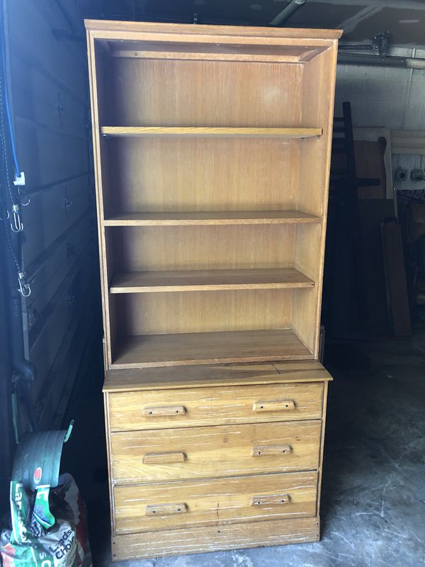 3 Drawer Dresser With Bookshelf Hutch For Sale In Lewisberry PA
