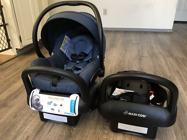 Maxi Cosi Mico Max 30 Infant Car Seat For Sale In Vallejo Ca Offerup