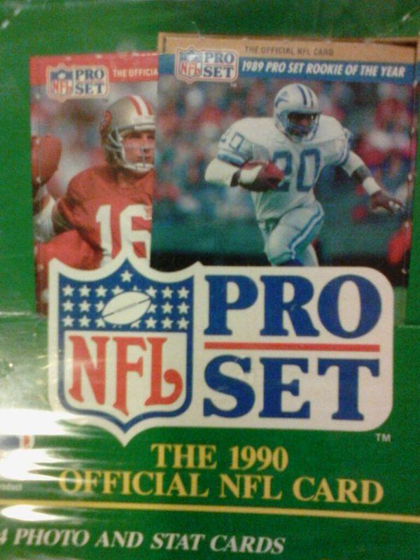 1990 Nfl Pro Set For Sale In Fremont Ca Offerup