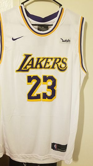 85086dac2e10 2018 19 Lakers Labron James jersey for Sale in South Gate