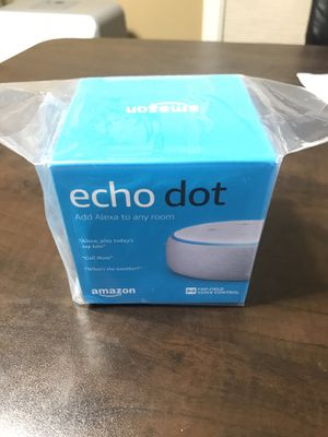 All-new Echo Dot (3rd Gen) - Smart speaker with Alexa - Sandstone for Sale in Gainesville, VA