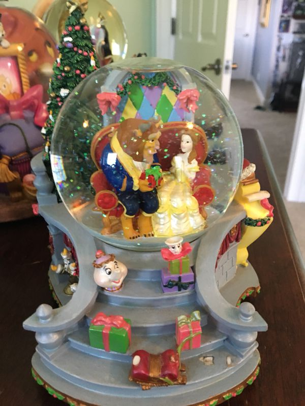 Beauty And The Beast Snow Globe For Sale In Clearwater Fl Offerup