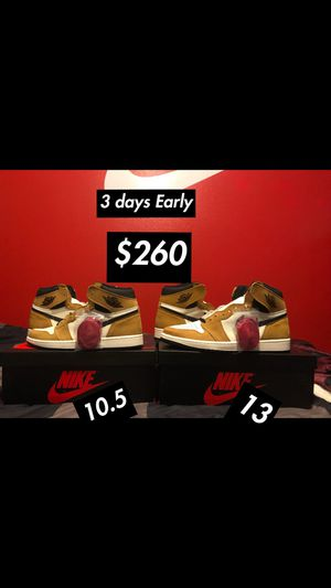 """Air Jordan 1 """"rookie of the year"""" for Sale in Richmond, TX"""
