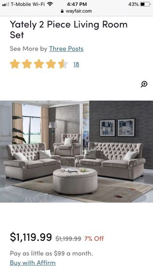 Yatley sofa and love seat for Sale in Dulles, VA
