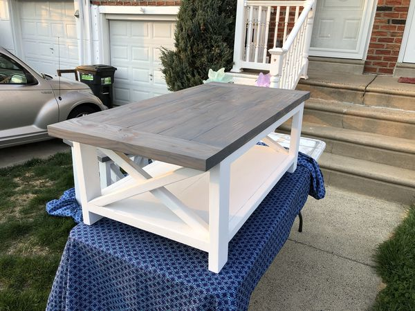 Rustic Barn House Coffee End Tables Made To Order For Sale In - Barn house coffee table