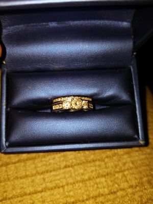14k white gold wedding set. for Sale in Chicago, IL