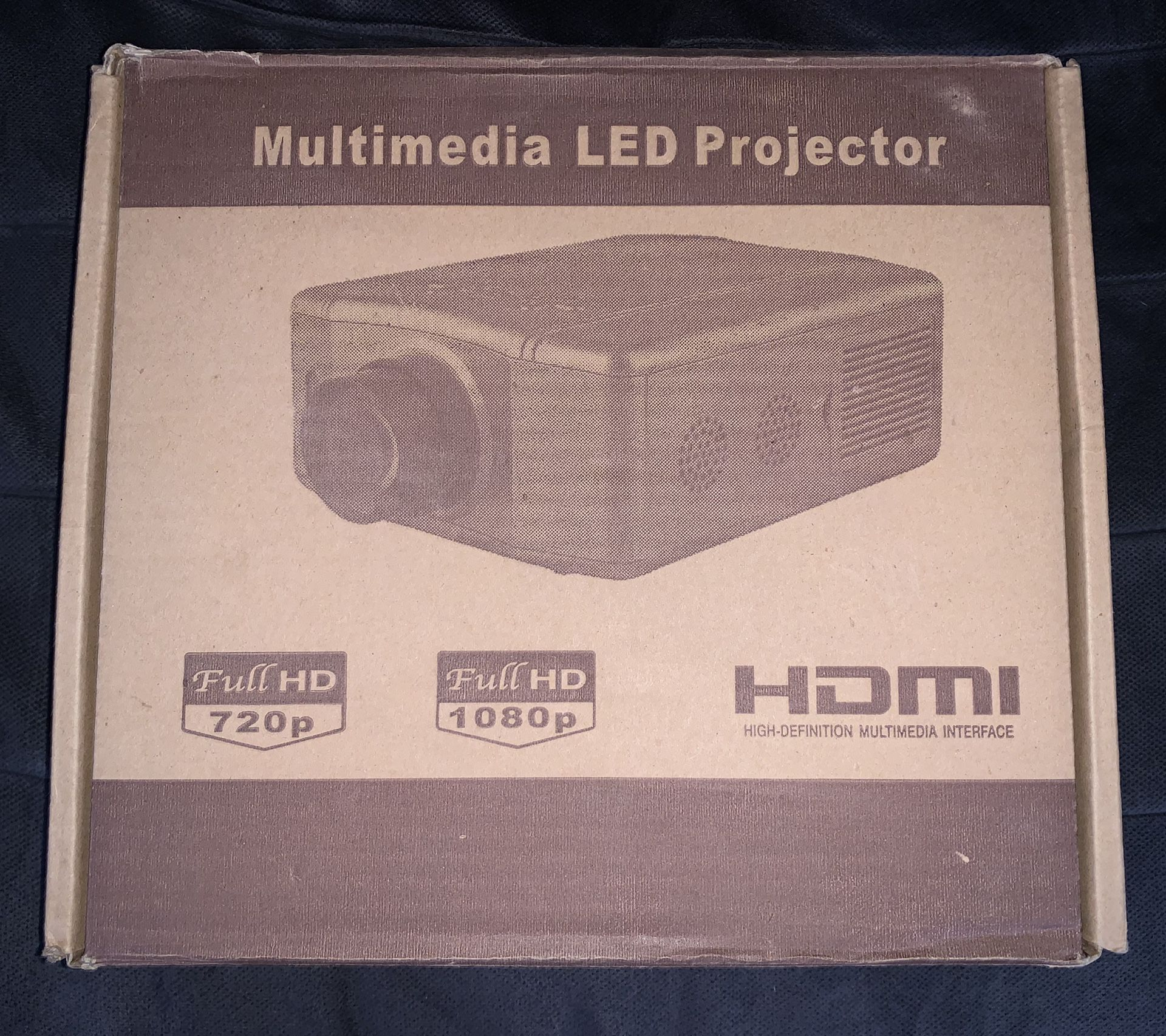 MULTIMEDIA LED PROJECTOR BRAND NEW