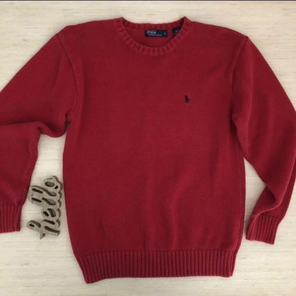 f14545f2df1 Polo Ralph Lauren crewneck Sweater •L for Sale in San Antonio