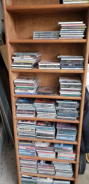 Music CD bonanza (shelf included) for Sale in Woodbine, MD