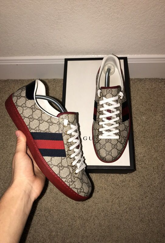 0dc503d4ed21 GUCCI ACE GG SUPREME SNEAKER for Sale in Spring Branch, TX - OfferUp