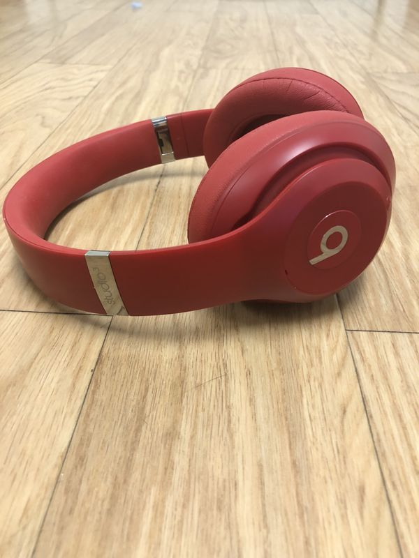 Beats Studio3 Wireless Over Ear Headphones Red Premium Sound With Fine Tuned Acoustics And Pure Anc Beats Studio3 Wireless Headphones Deliver A Prem For Sale In Las Vegas Nv Offerup