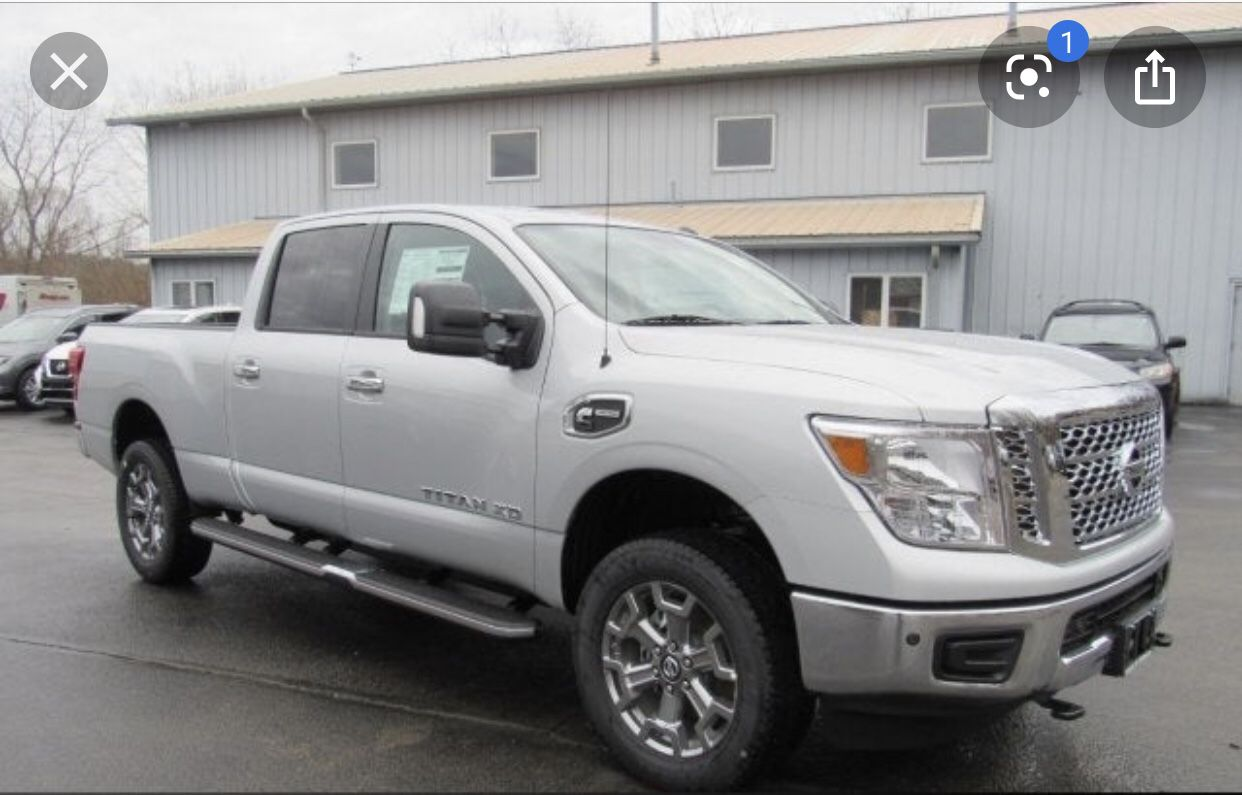 2018 Titan Xd tires and rims running boards front and rear bumpers or make offer
