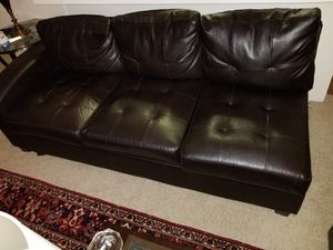 Sectional leather sofa for Sale in West Los Angeles, CA