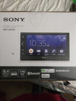 Photo Brand New Sony Double Din