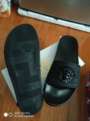 Versace slipper sizes 10 for Sale in Gaithersburg, MD