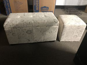 Ottoman Set for Sale in White Plains, MD