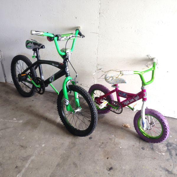 Boys Surge Bmx 18 S Dynamaster Troll 12 Bike For Parts