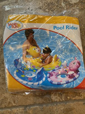 Photo Brand New!! Sand N Sun Pool Rider Ages 3-5