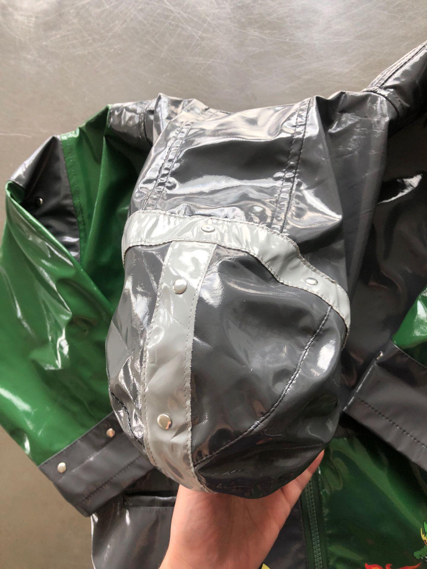 Rain jacket coat knight and dragon 5/6 T