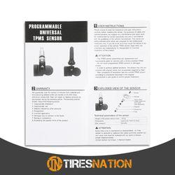 (1) Tire Air Pressure Sensor TPMS Rubber Valve For MINI MiniHatch 2010-13 Thumbnail