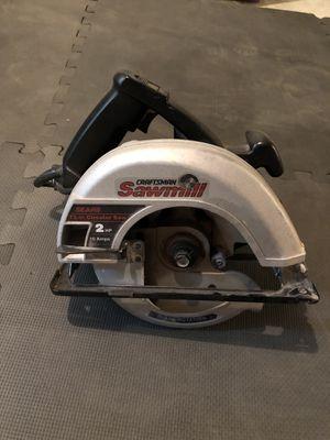 "Craftsmen Sawmill 7 1/4"" circular saw for Sale in Burke, VA"