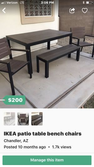 New And Used Patio Furniture For Sale In Chandler Az Offerup