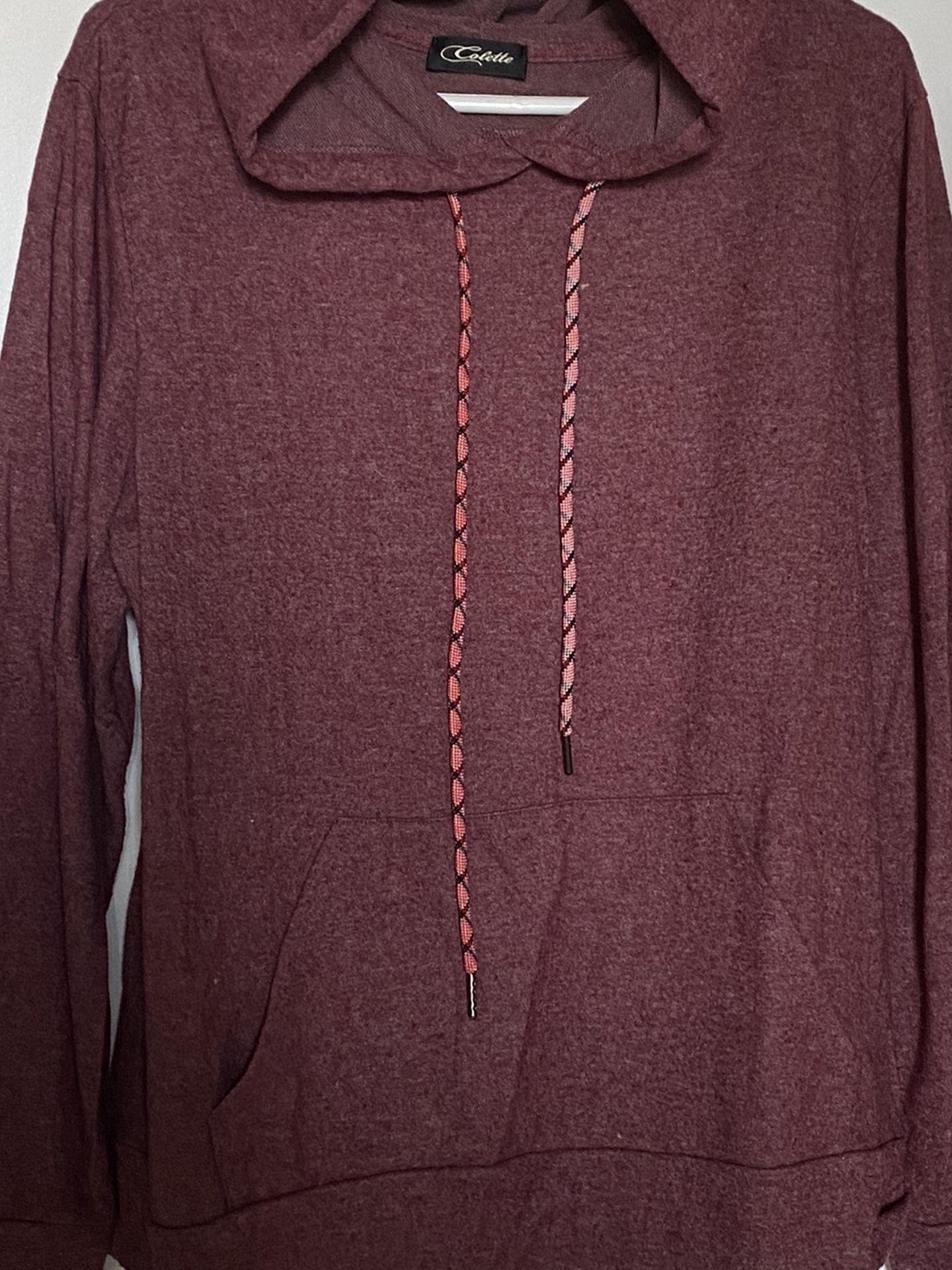 Soft Burgendy Sweatshirt