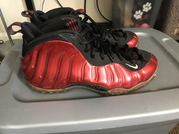 factory price 6184d af0e6 Nike Foamposite One Metallic Red Size 9 for Sale in Lubbock, TX - OfferUp