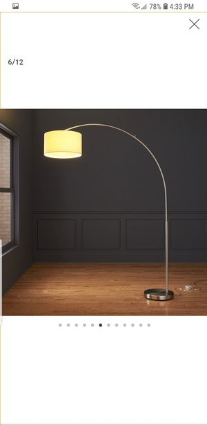 Photo Crate And Barrel Arc Lamp, Modern, White, Luxurious - $99 (bought for $269)