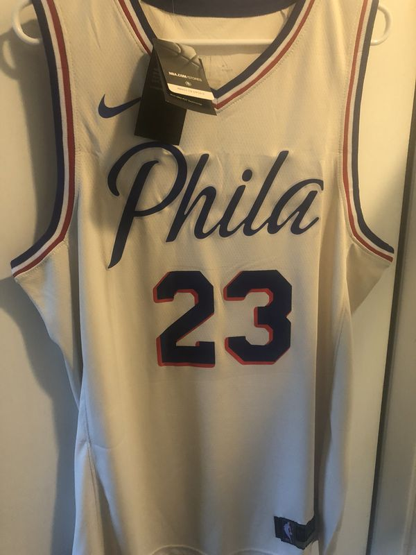 newest 0f2c1 6dad2 Jimmy butler Philadelphia 76ers retro nba basketball jersey Nike Sz xl!  Nwt! for Sale in Cresskill, NJ - OfferUp